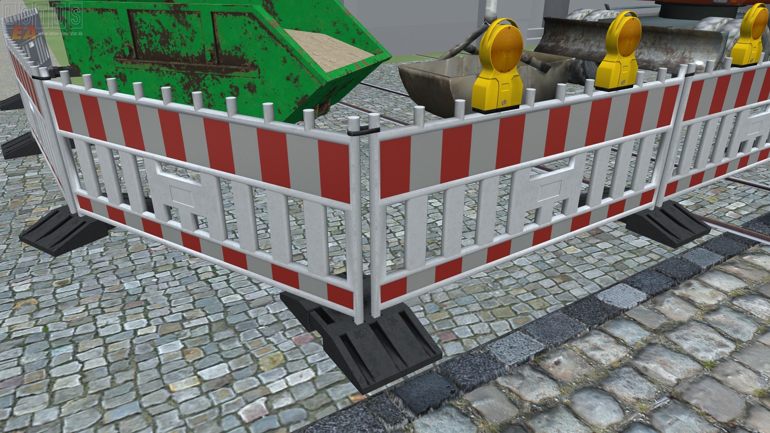 Straßenobjekte Vorschau - Absturzsicherung